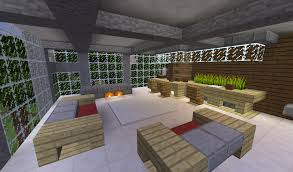 minecraft living room interiors design