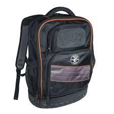 klein tools tradesman pro organizer tech backpack 55456bpl the