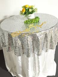 48 silver sequin tablecloth wholesale wedding beautiful