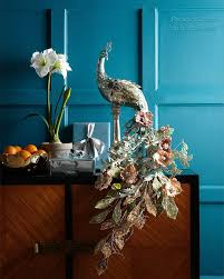 Silk Peacock Home Decor Themes On Be Creative
