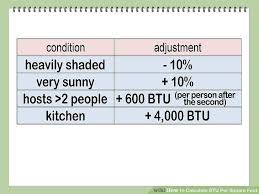 1300 sq ft to meters how to calculate btu per square foot with calculator wikihow