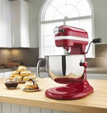 Kitchenaid P by Red Kitchenaid Mixer 6 Quart Kp26m1xer
