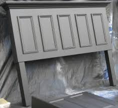 Diy Door Headboard Diy King Size Headboard Panel Door Converted Into A King Size