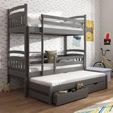 chambre lit superposé lit superposé alan 3 couchages dispo en 8 couleurs
