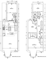 row house floor plans shaw rowhouse renovation the plan