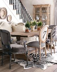 118 chic dining room blue dining chairs black area rugs distressed