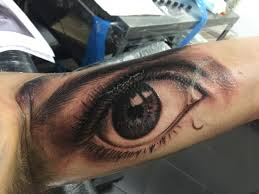 john anderton nemesis ultra realistic eye tattoo big tattoo