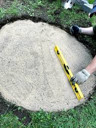 fire pit sand diy fire pit in under two hours 1915 house