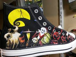 the nightmare before custom converse all crafts