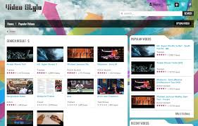 templates for video website video stylo video sharing website theme premium joomla template