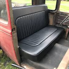 Classic Ford Truck Bench Seats - fitting a bench seat into a channeled rod eastwood blog