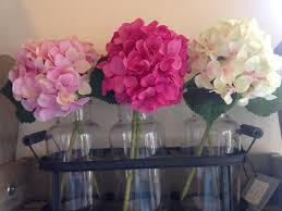 pink hydrangeas by sia artificial flowers gifts ornaments