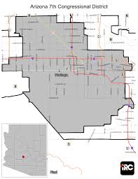 Chandler Arizona Map by Districts Independent Redistricting Commission
