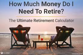 Retirement Expenses Worksheet Ultimate Retirement Calculator