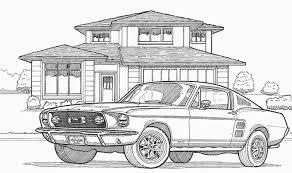 coloriage les transports voitures 2 à colorier allofamille