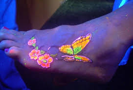 glow in the dark tattoo how long does it last 98 glowing black light tattoos add intensity to your ink