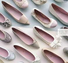 wedding shoes montreal pretty ballerinas shoe clutch bridal collection elegantwedding ca