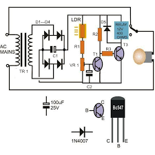 How To Make Led Lights How To Make A Light Activated Day Night Switch Circuit U2013 Science