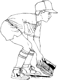 mlb baseball field colouring pages coloring