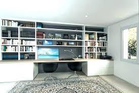 bibliothèque avec bureau intégré bibliotheque bureau integre bureau bureau bureau plan travail s