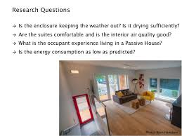 Interior Design Research Topics by Post Occupancy Research At The North Park Passive House