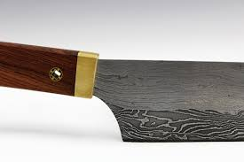 tools and replicas round house blacksmithing damascus chef knife damascus santoku eric dennis blacksmith bladesmith hand forged
