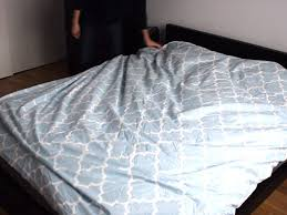 How To Put A Duvet Cover On A Down Comforter Duvet Cover Hack How To Roll A Duvet Cover