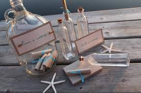 diy message in a bottle message in a bottle guestbook weddingbee photo gallery