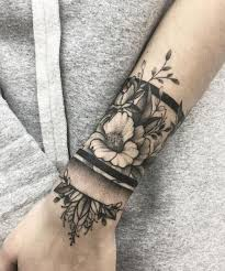 the 25 best flower wrist tattoos ideas on pinterest henna
