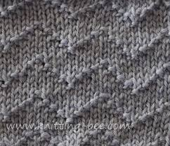 zig zag knitting stitch pattern chevron zig zag lines knitting stitch knitting bee