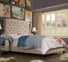 wingback beds you u0027ll love wayfair