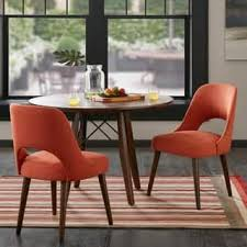 Colored Dining Room Chairs Orange Kitchen Dining Room Chairs For Less Overstock
