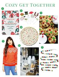 Christmas Sweater Party Ideas - dearest deborah holiday party ideas