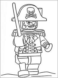 lots kinds coloring pages lego long john silver sea