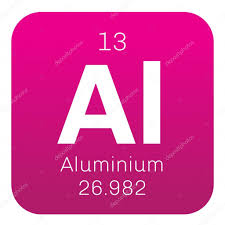 is aluminum on the periodic table aluminium chemical element stock vector lkeskinen0 124556184