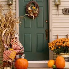 peeking thru the sunflowers fall decorating ideas for your porch u2026