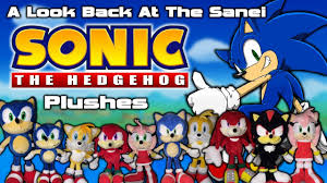 a look back at the sanei sonic the hedgehog plushes youtube