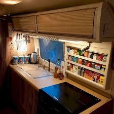rv kitchen cabinet storage ideas 30 best rv kitchen storage ideas for cozy cook when the