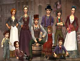 1800s hairstyles for sims 3 spring4sims victorian