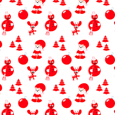 christmas ornaments around the product vector free vector 4vector