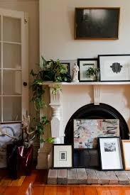 How To Decorate A Non Working Fireplace 12 Ideas For Your Nonworking Fireplace Apartment Therapy