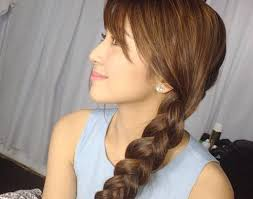 katrine bernardor hair color kathryn bernardo get her polished braid candy