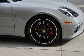 porsche panamera turbo 2017 black 2017 porsche panamera turbo stock b966a for sale near chicago