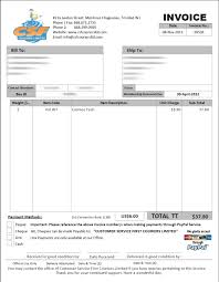 Free Email Invoice Template Invoice Email Invoice Template Html