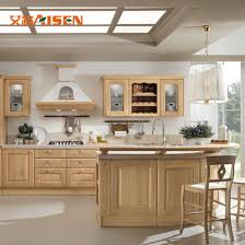 modern all wood kitchen cabinets display solid wood kitchen cabinets for sale customized