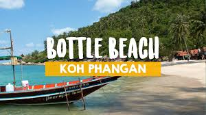 one day at the bottle beach travel blog about southeast asia