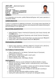 Structural Engineer Resume Mech Engineer Resume