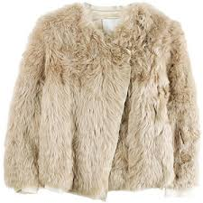 fur sweater paneled fur sweater jacket 3 1 phillip lim polyvore