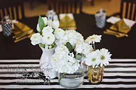 white and gold baby shower black white gold baby shower party ideas photo 6 of 15
