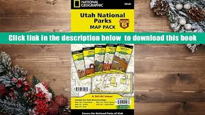 Utah National Parks Map Read Online Utah National Parks Map Pack Bundle National